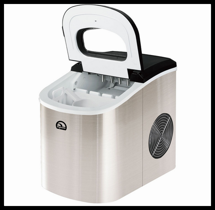 ... Ice Maker Compact & Portable By Igloo Silver or Red - Countertop Ice