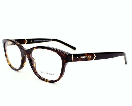 New Authentic Burberry BE2151 3002 Tortoise Brown Eyeglass ...