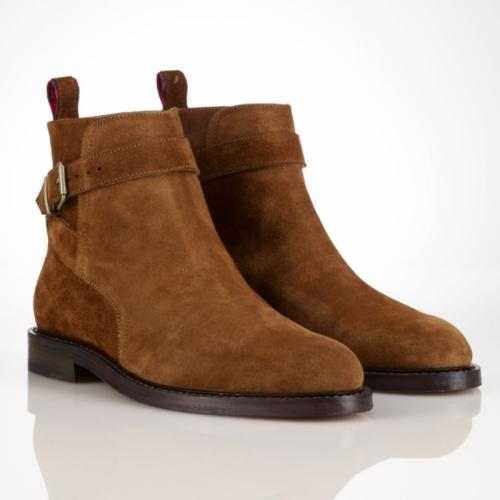 Mens Brown Ralph Lauren Shoes
