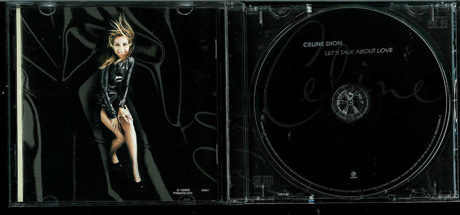 celine dion let 39 s talk love cd cds. Black Bedroom Furniture Sets. Home Design Ideas