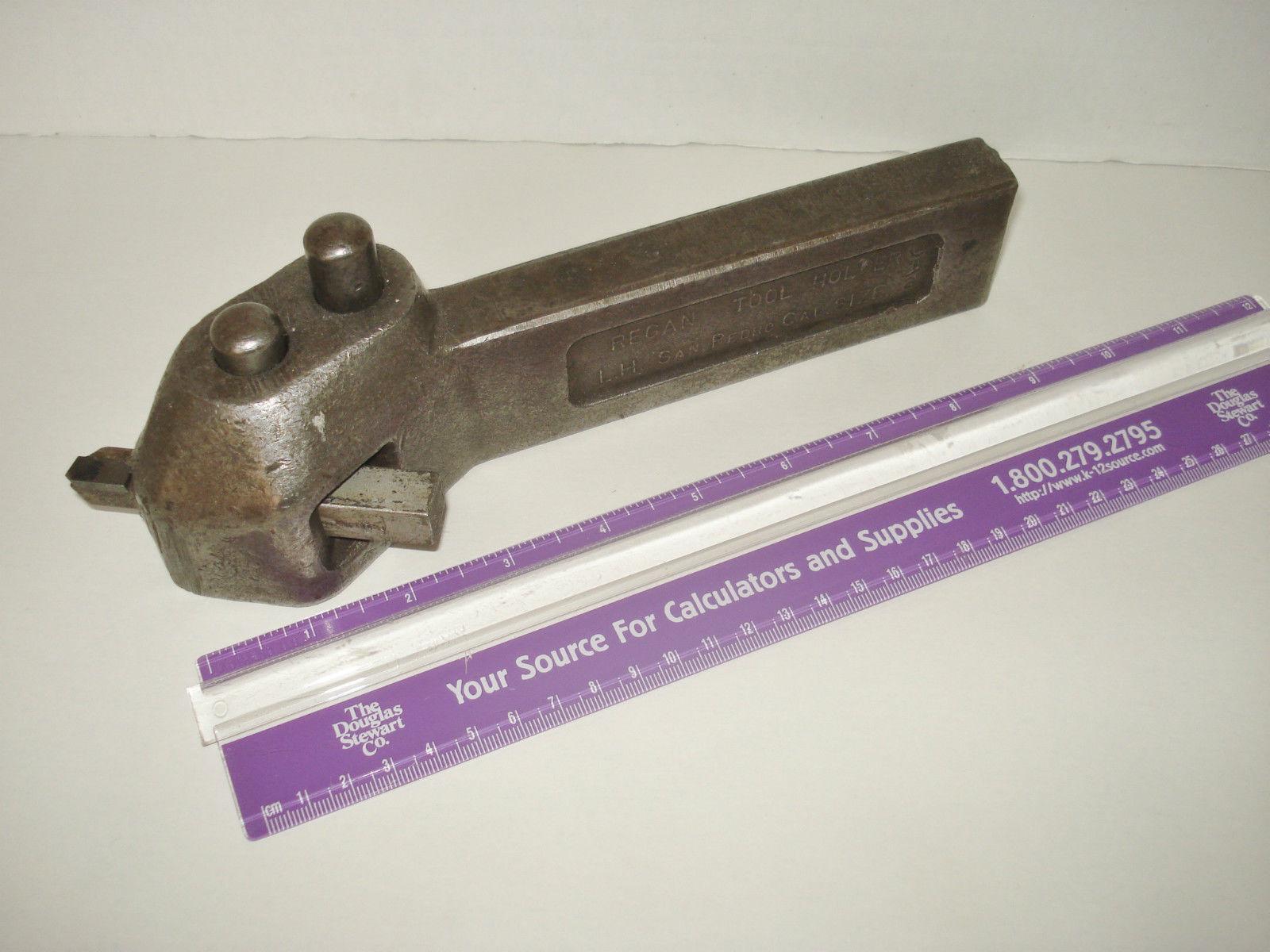Large Boring Bars : Regan lathe quick release change large boring bar tool
