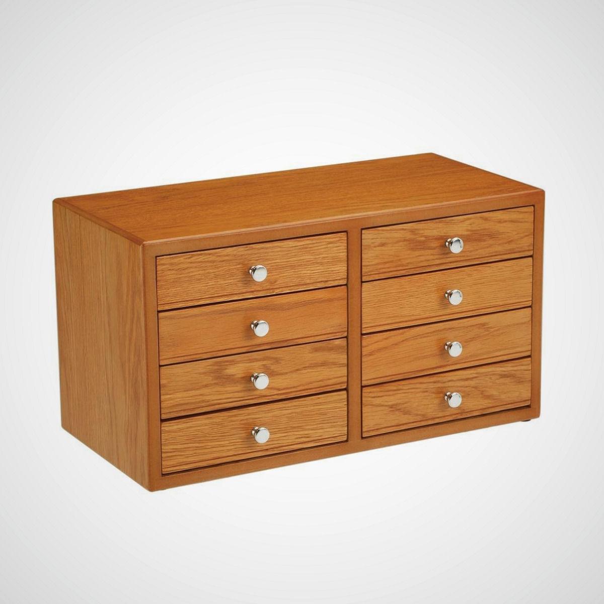 tool multi drawer storage organizer cabinet oak bathroom kitchen