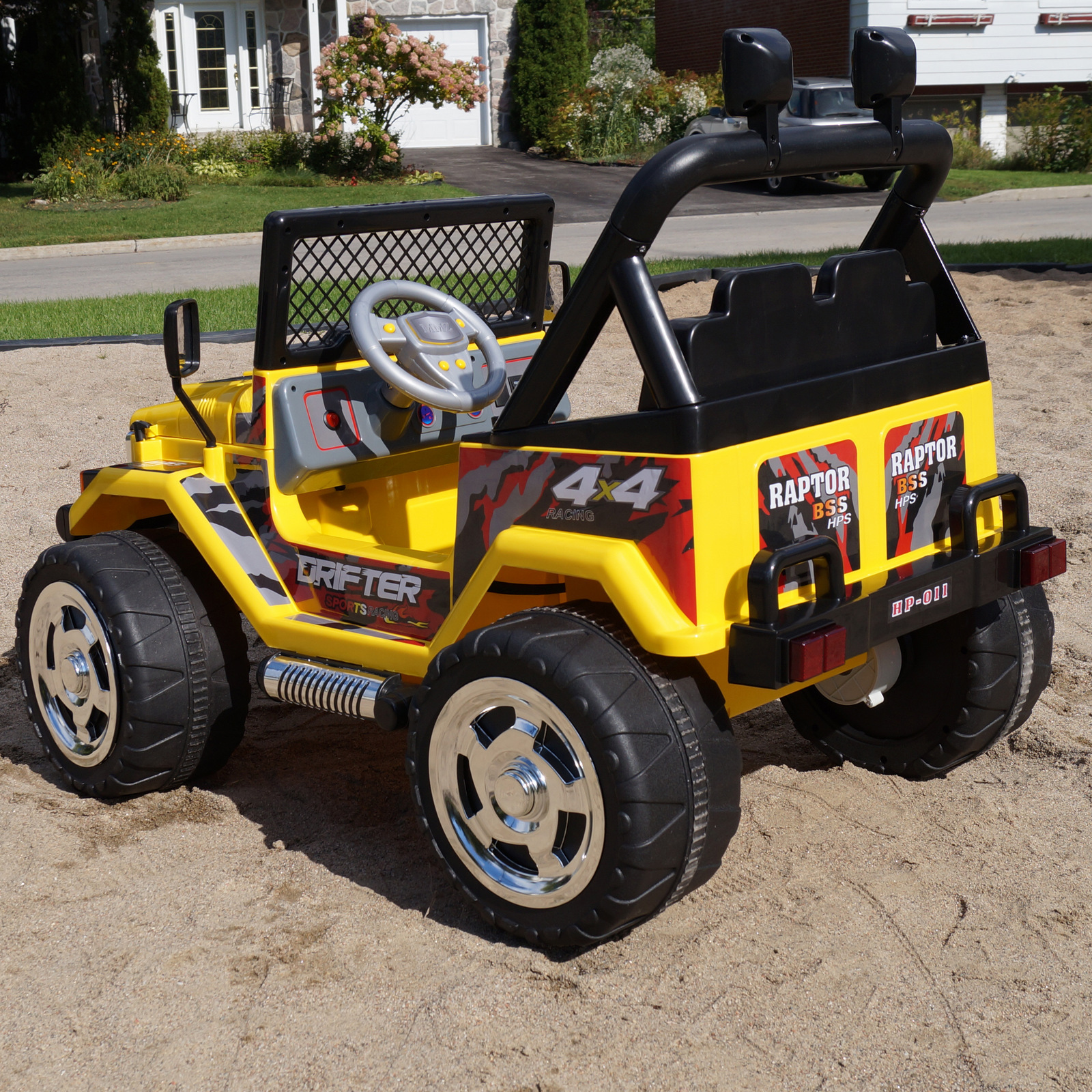 Jeep Wrangler Kids Ride On Battery Powered Electric
