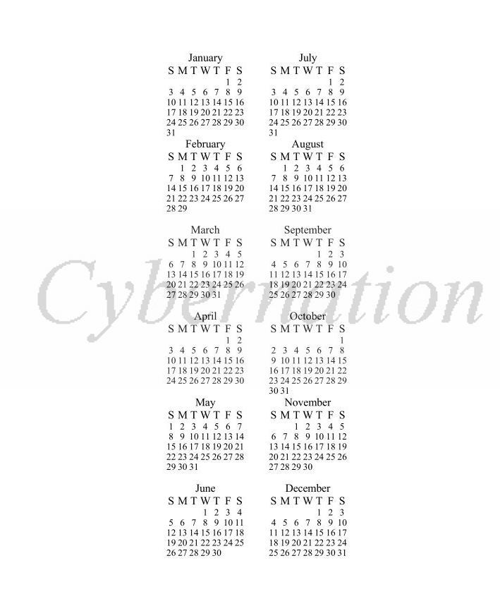 Printable 2016 Calendar On One Page/page/2 | Calendar Template 2016
