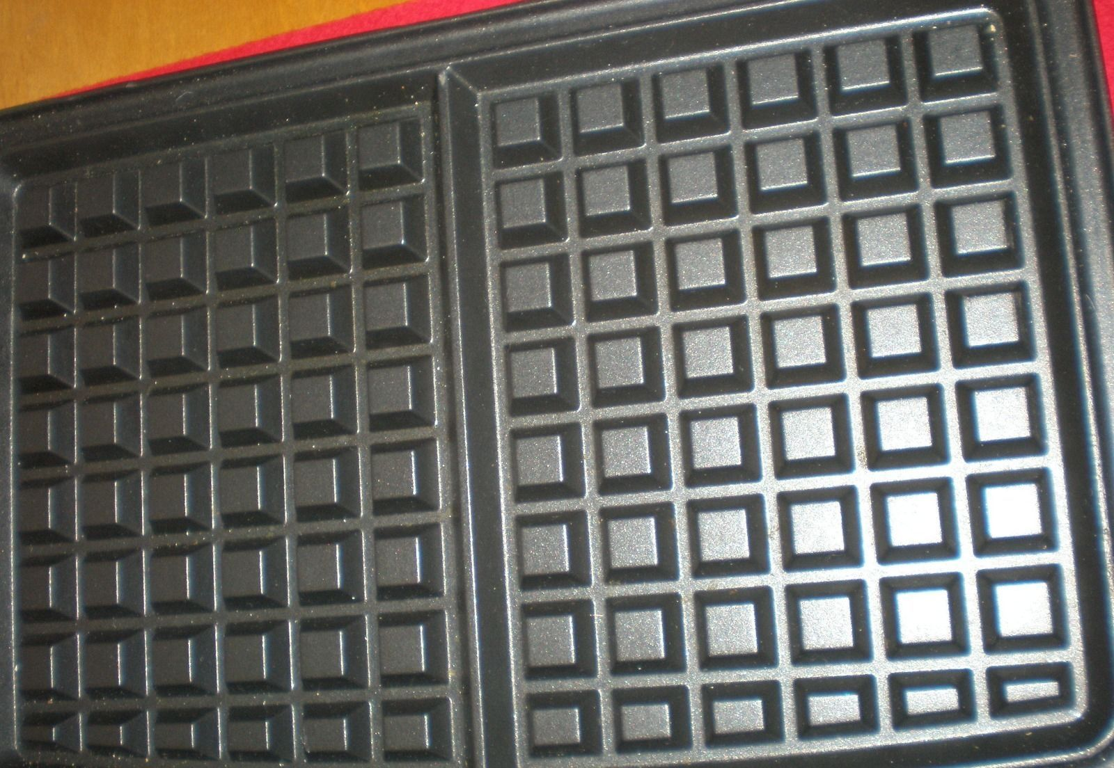 Waffle grill plate set george foreman g5 grill replacement - George foreman replacement grill plates ...