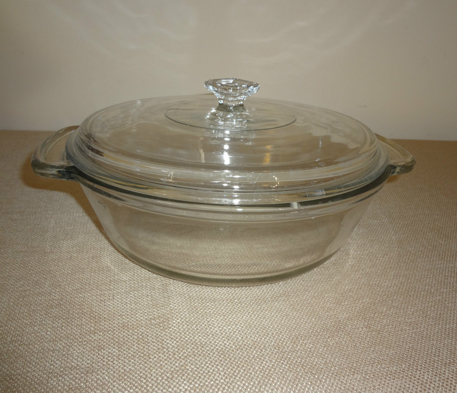 how to clean glass baking dish