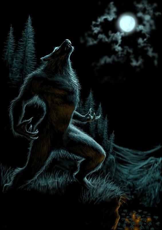 Gained Marilyn Asian werewolf