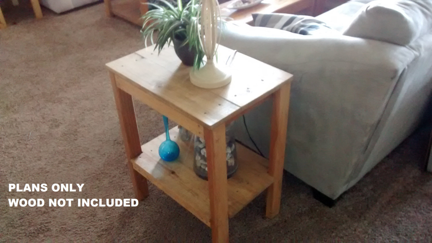 Diy living room end table plans tables