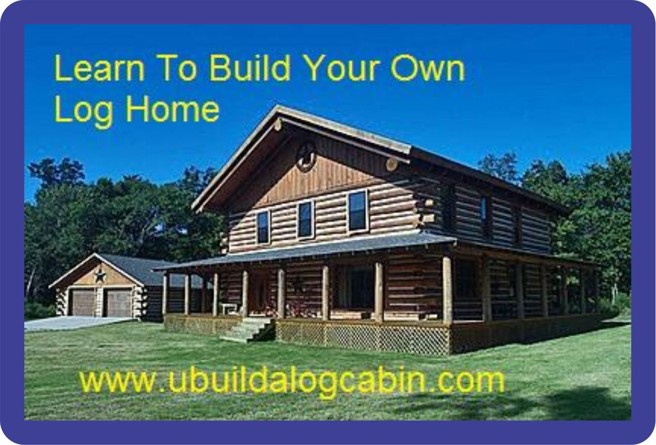Wonderful image of & Pass Log Home Cabin Instructional DVD No Notching No Log Cabin Kit  with #056FC6 color and 1351x916 pixels