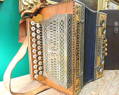 used button accordion for sale 87 ads in us. Black Bedroom Furniture Sets. Home Design Ideas