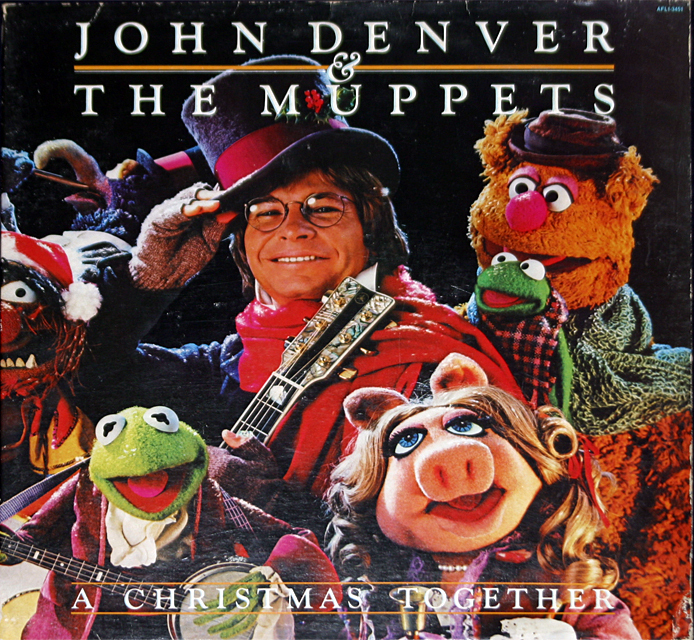 "John Denver ""The Muppets A Christmas Together"" LP"