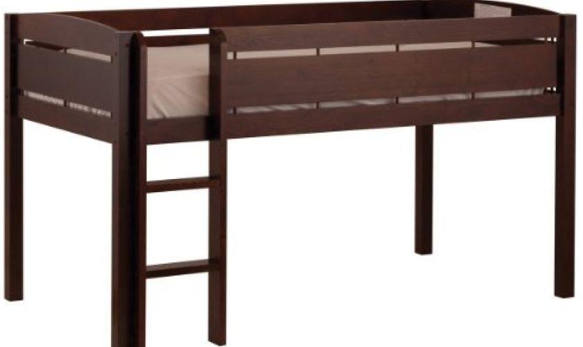 LOFT BED Bunk Toddler Kid FURNITURE LADDER Bedroom Plan Youth Stairs ...