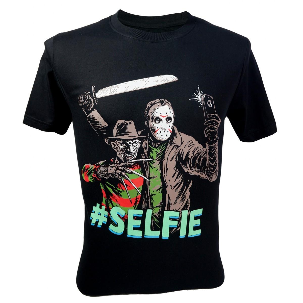 Home Decor Antiques Immortal Men S Freddy Krueger Vs Jason 13th Friday Selfie