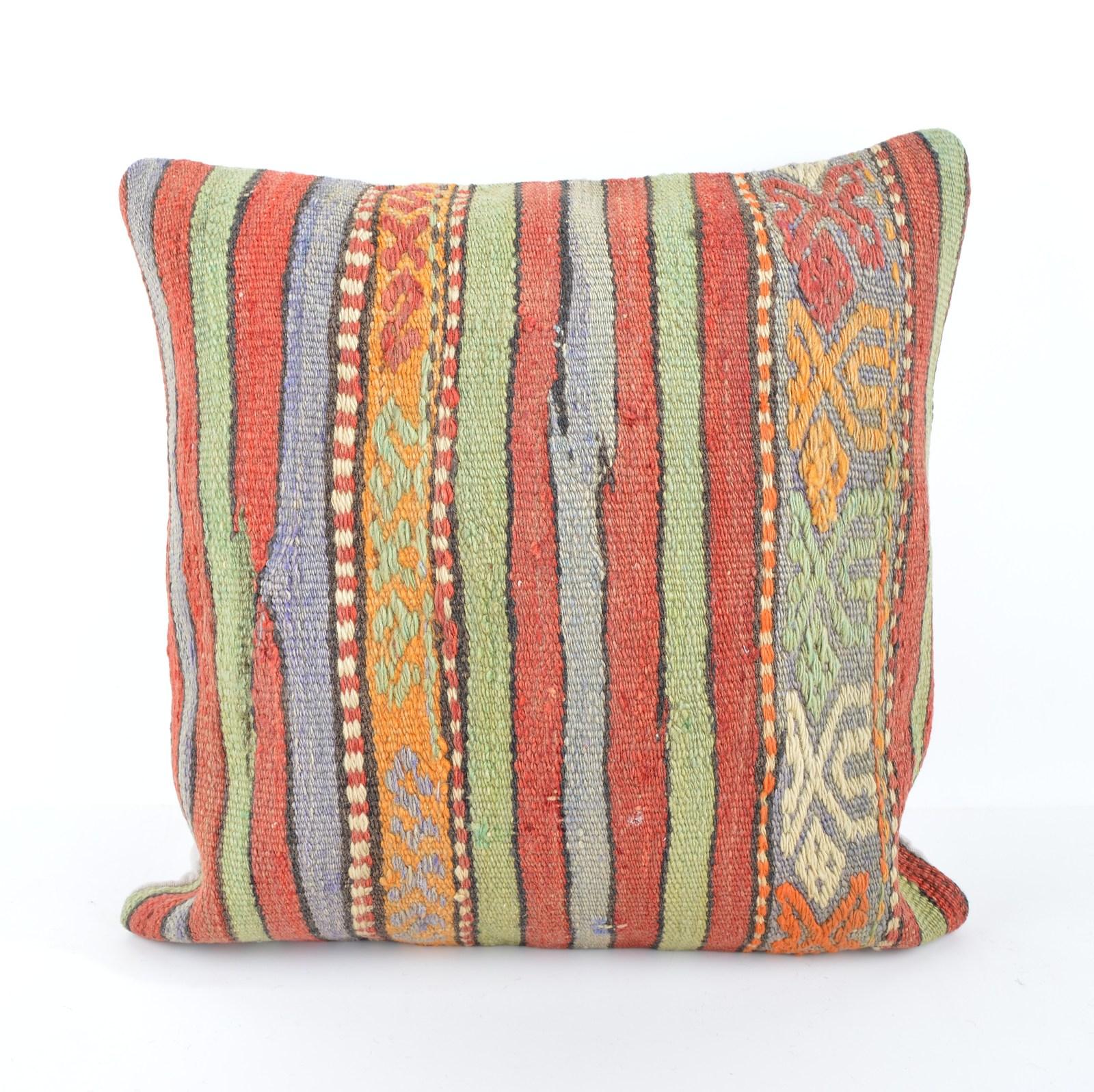 Throw Pillow Ethnic,Kilim Pillow Cover, BohemianTribal ...