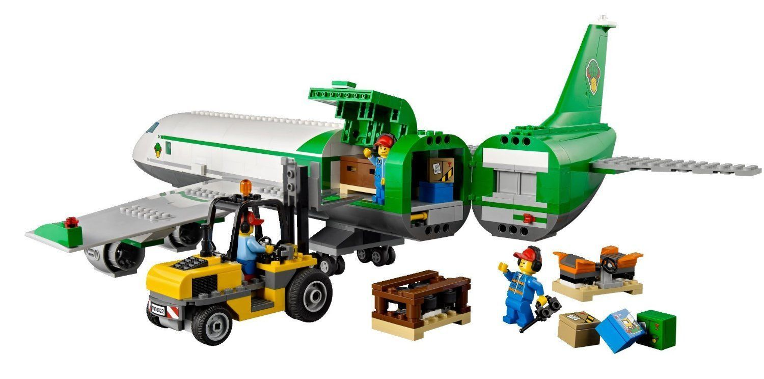 LEGO City 60022 Cargo Airport Terminal Kids Toy Building ...
