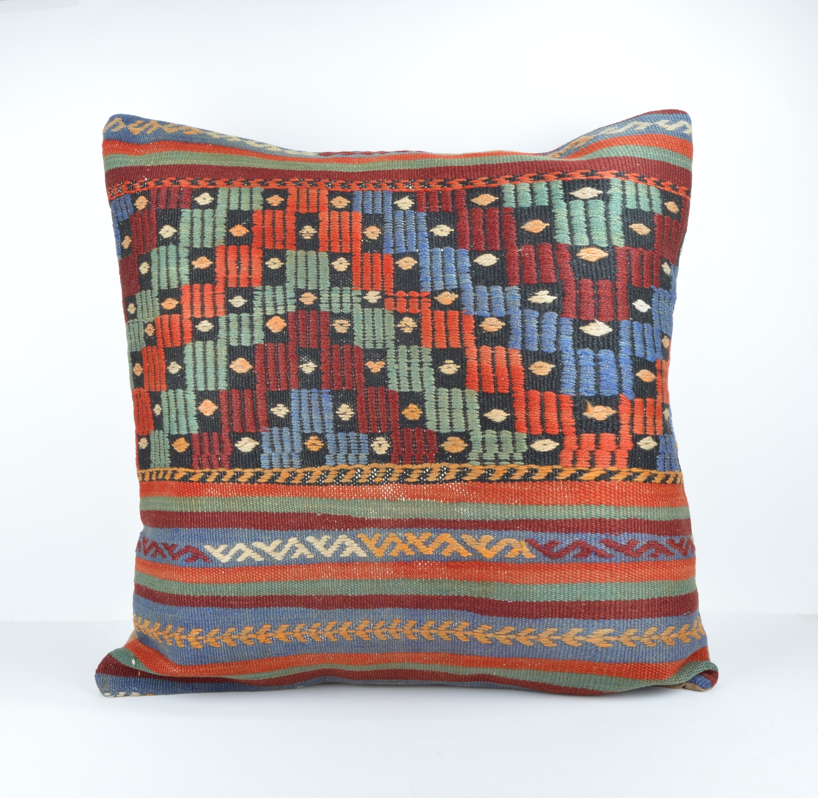 Large Throw Pillow Cases : 24x24 large kilim pillow big pillow decorative pillow cover large cushion case - Pillowcases