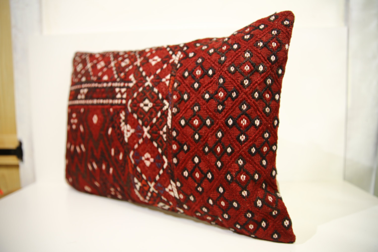 Turkish Kilim Throw Pillows : Kilim Pillows 24x16 Lumbar pillows 1467 Turkish pillows , throw pillows - Pillows