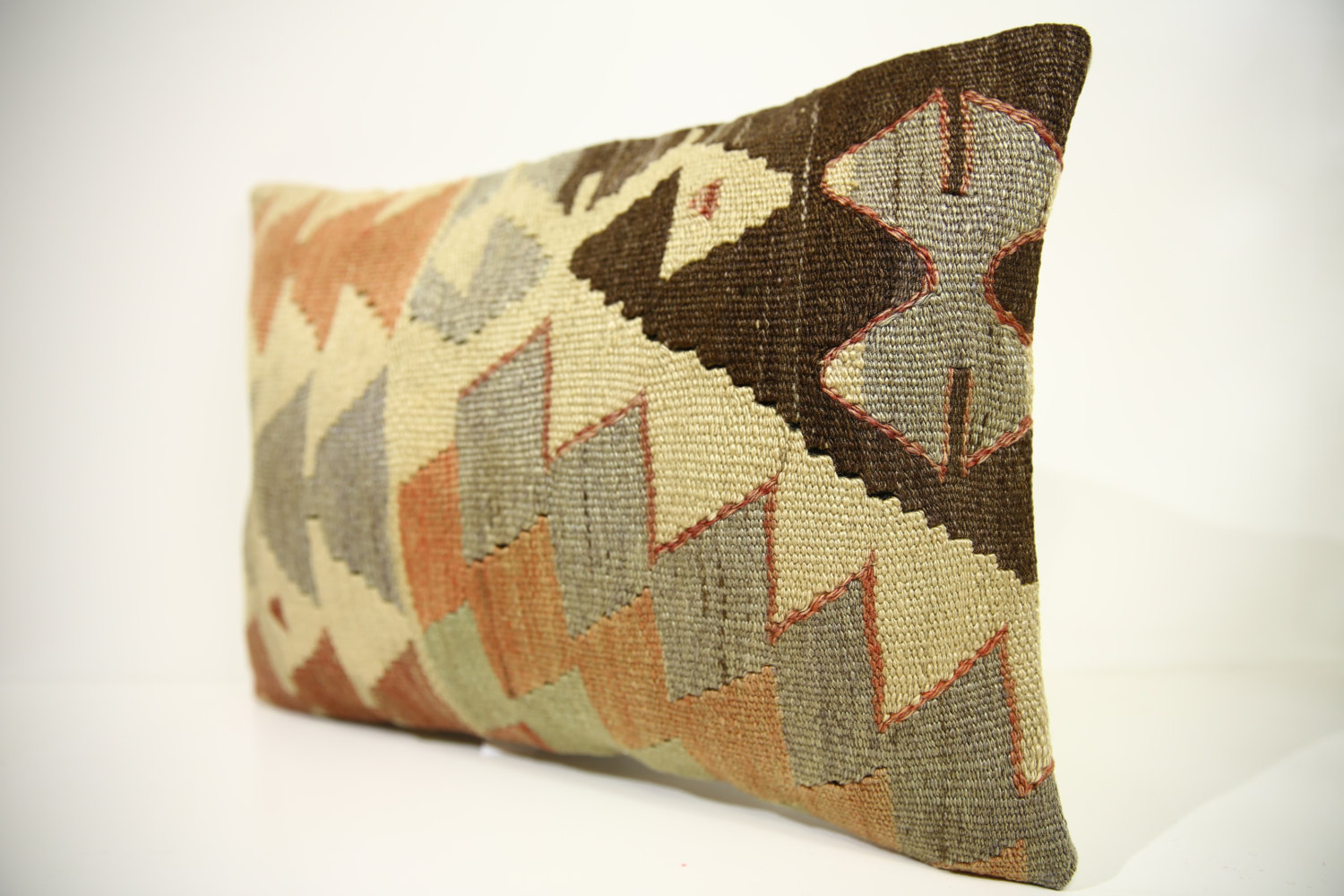Turkish Kilim Throw Pillows : Kilim Pillows 18x13 Lumbar pillows 1460 Turkish pillows , throw pillows - Pillows