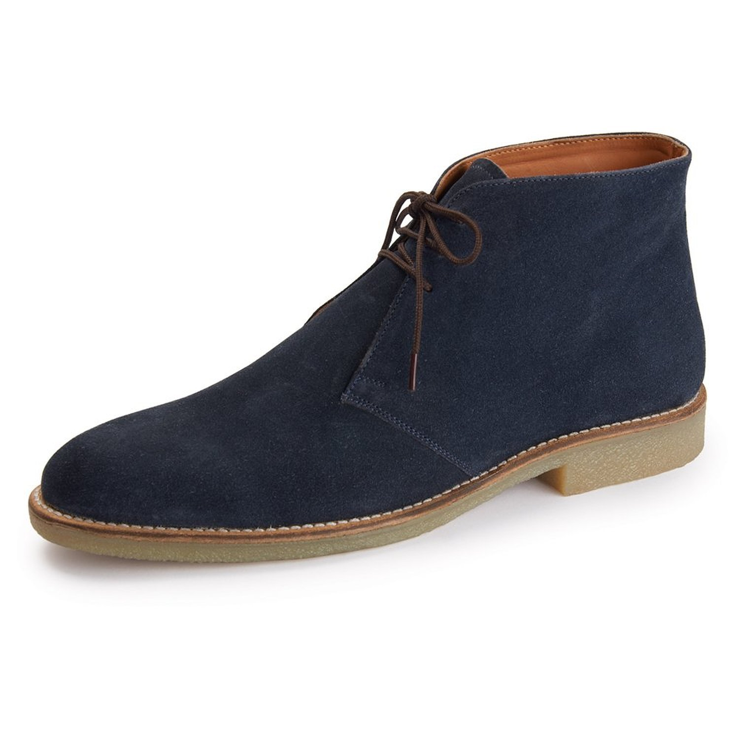 handmade mens chukka suede leather boots mens fashion