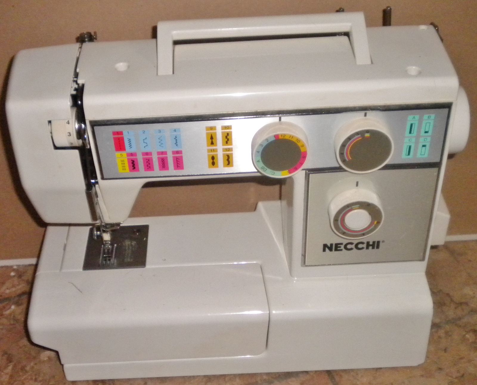 used necchi sewing machine