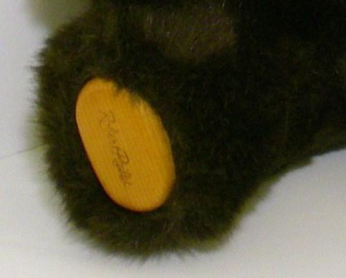 Image 1 of Robert Raikes Bears Cookie Dark Brown version 1989