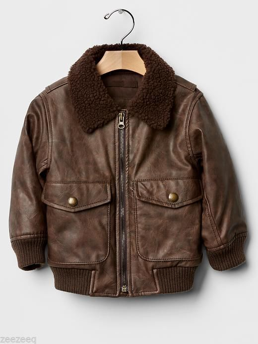 The kids will love this replica bomber jacket for a fraction of the cost of a real one. This is a size 14/16 and is in very nice condition. Auctiva's FREE Counter.