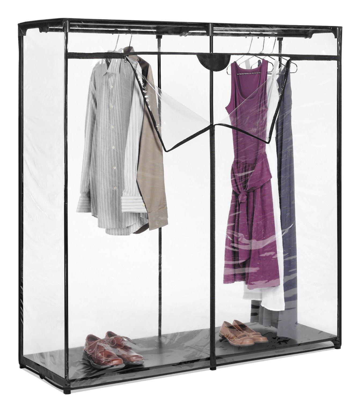 Whitmor Garment Hanging Rack Portable Closet Wardrobe