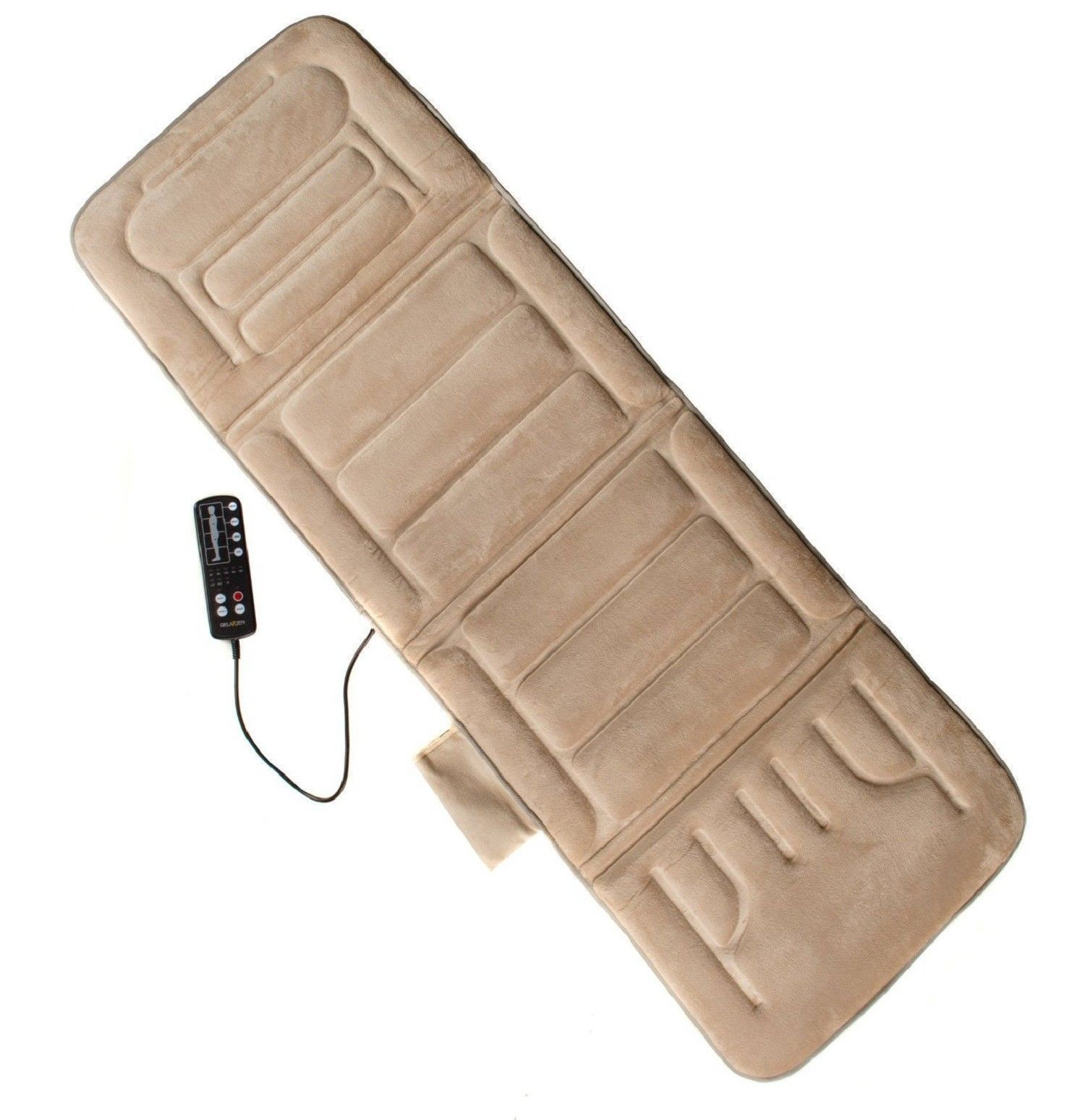 Mattress Pad Warmer ... Cushion Mat Vibrating Bed Hot Pad Back Body Massager - Massagers