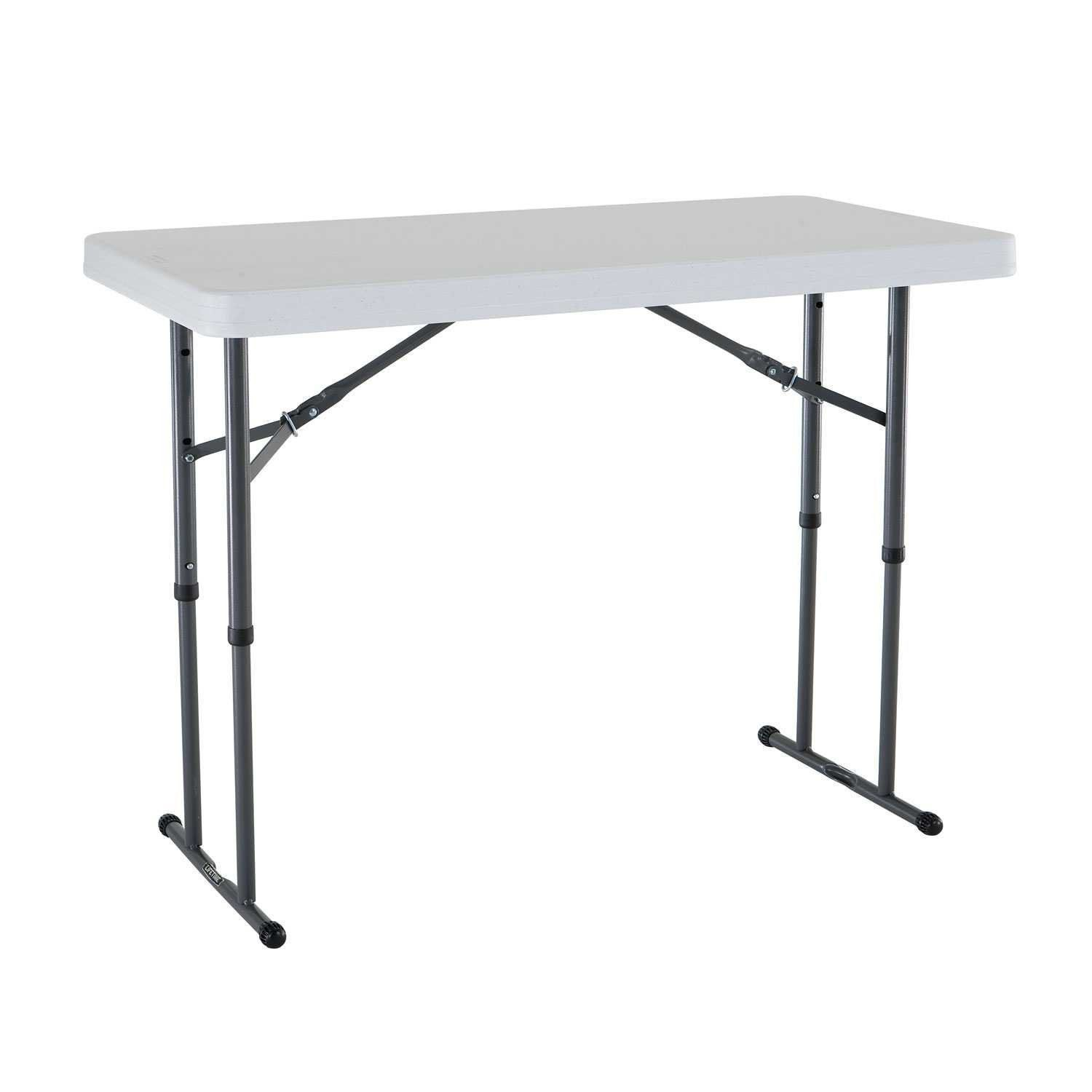 adjustable height folding table kids serving craft tables. Black Bedroom Furniture Sets. Home Design Ideas