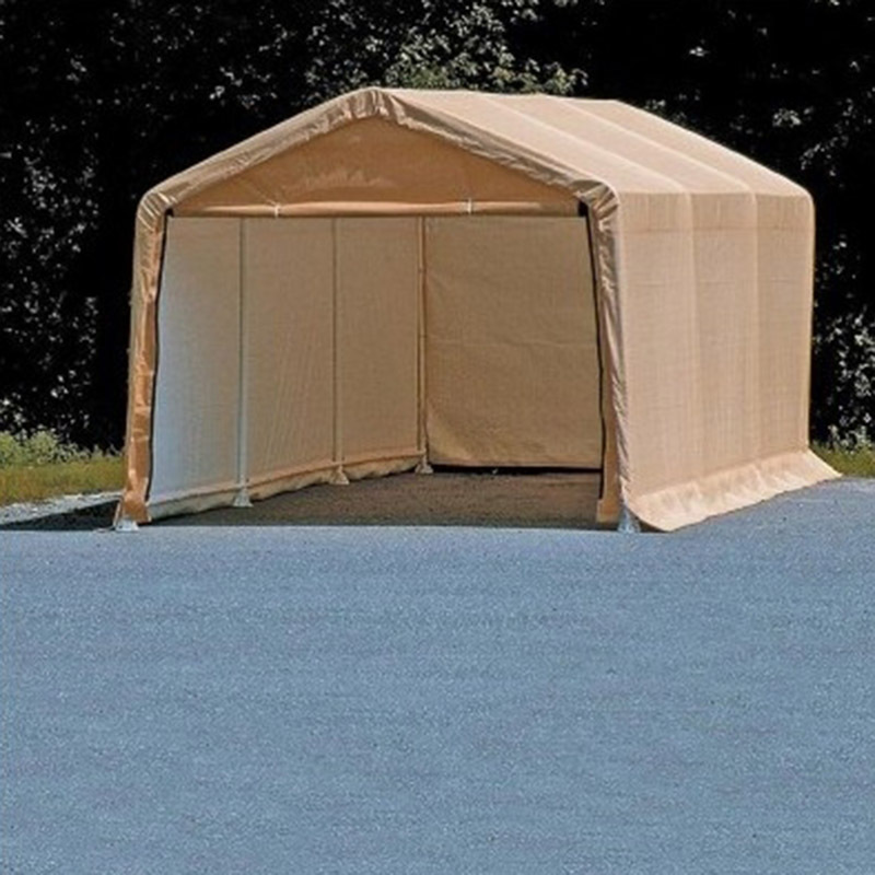 Portable Car Sheds : Portable car shelter temporary vehicle storage or workshop