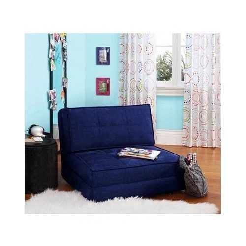 Foam Flip Chair Bed For Teens Lounger Dorm Bedroom