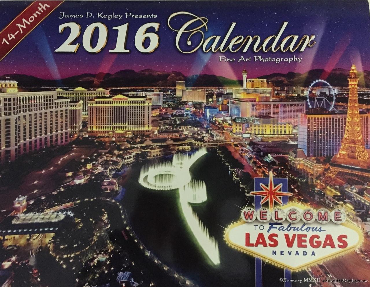 Calendar Las Vegas May : Month james kegley las vegas wall calendar mgm
