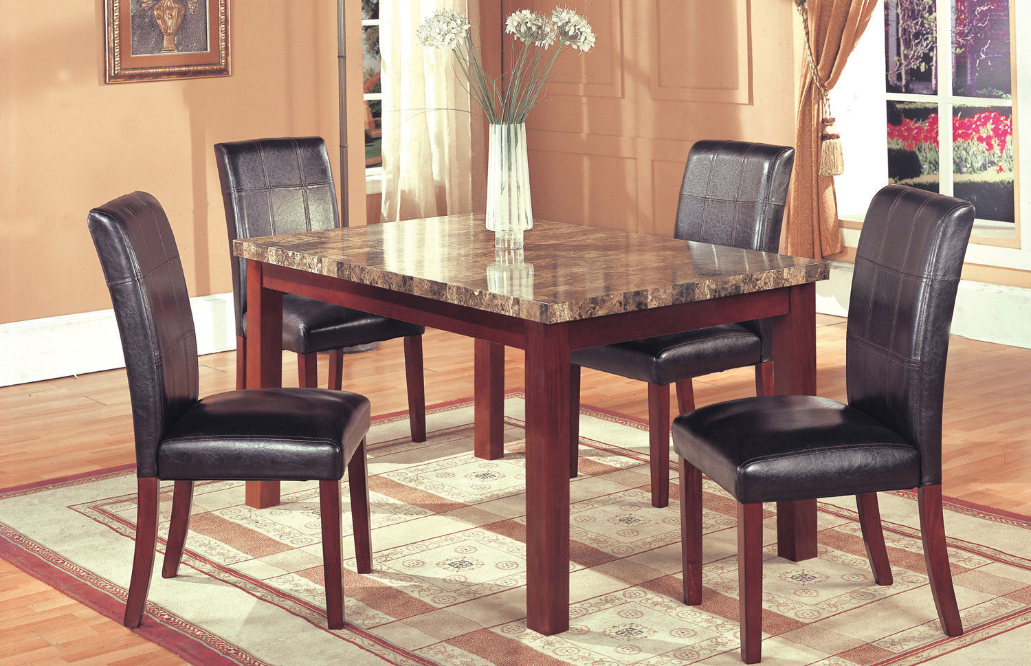 Hazelwood Home 5 Piece Dining Set  Dining Sets