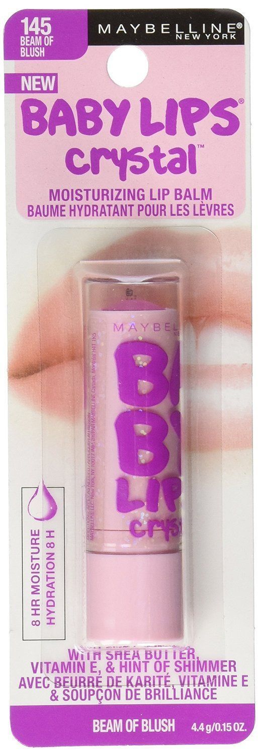 Baby Lips BEAM OF BLUSH No 145 Crystal Collection 8 HR ...
