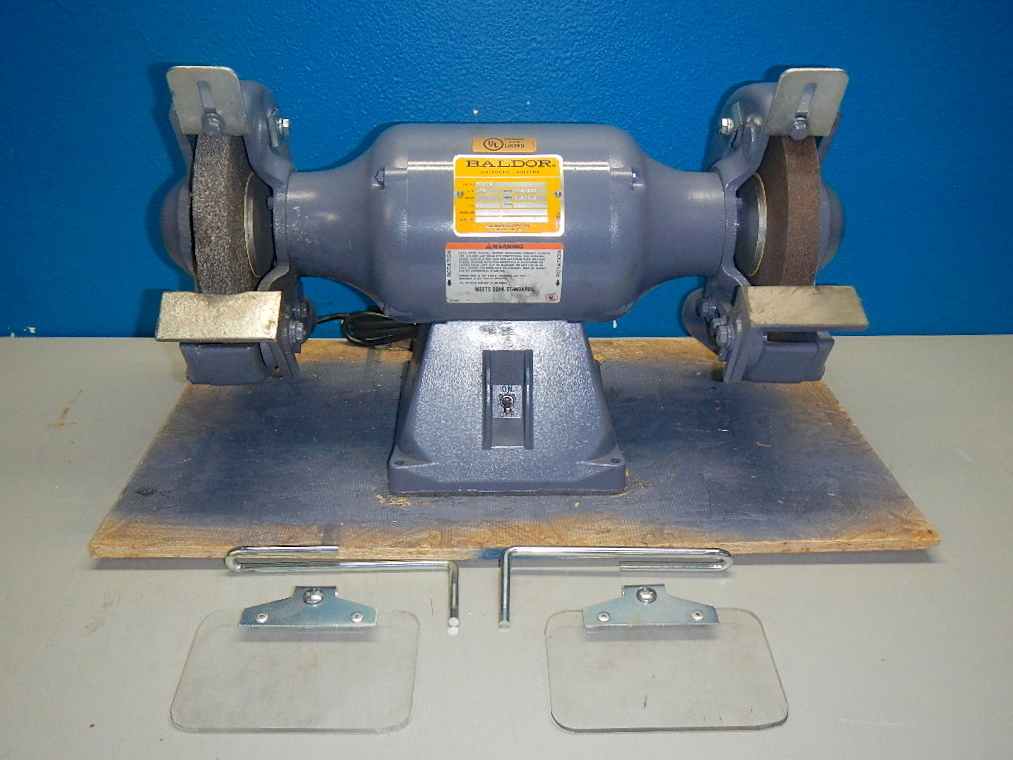 baldor 8 u0026quot  bench grinder 3  4 hp 115 volts 3600 rpm 8107w