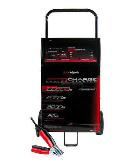 Hand Held Battery Tester Automotive : Car battery charger schumacher portable volt