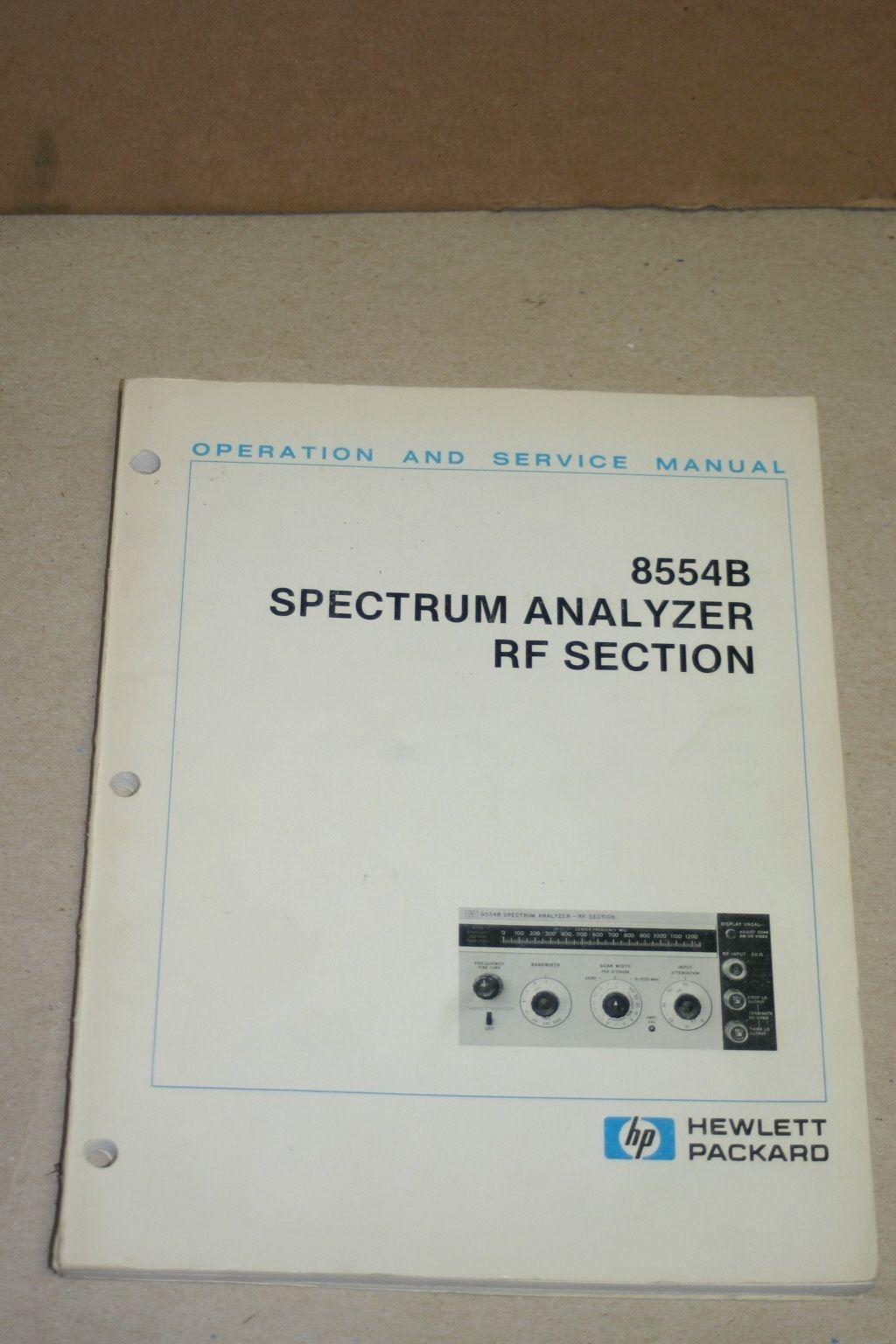 R s spectrum analyzer manual pdf