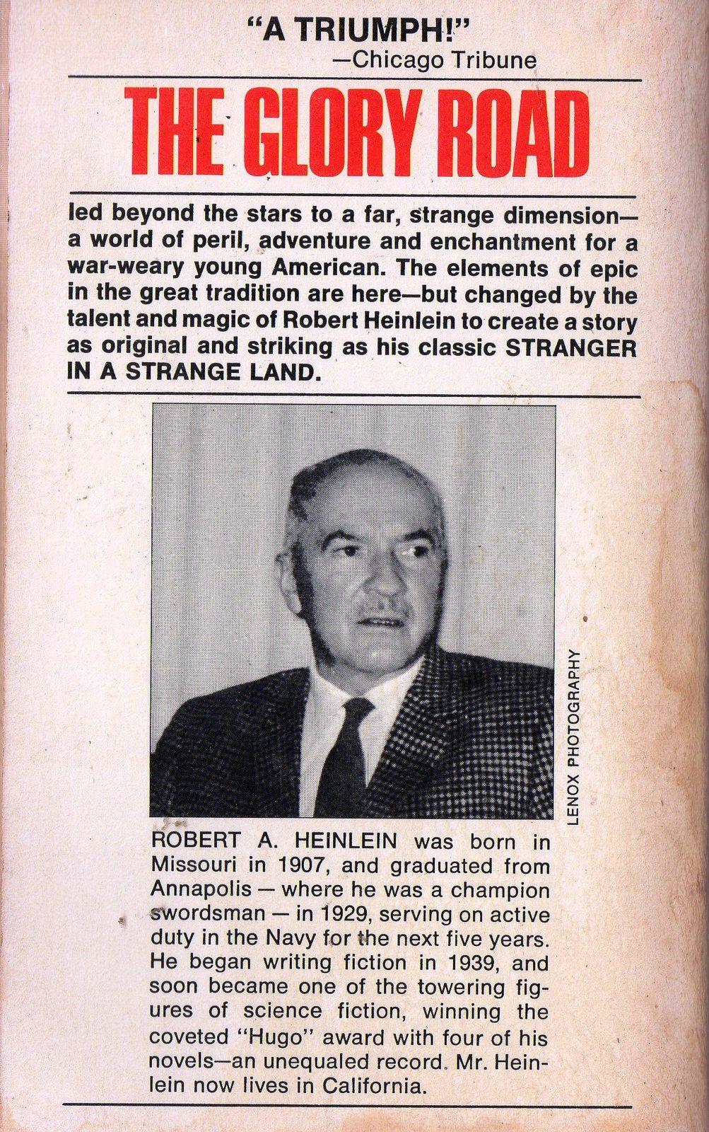 Glory Road Robert A Heinlein Baen Books 1991 1st Printing Paperback Book