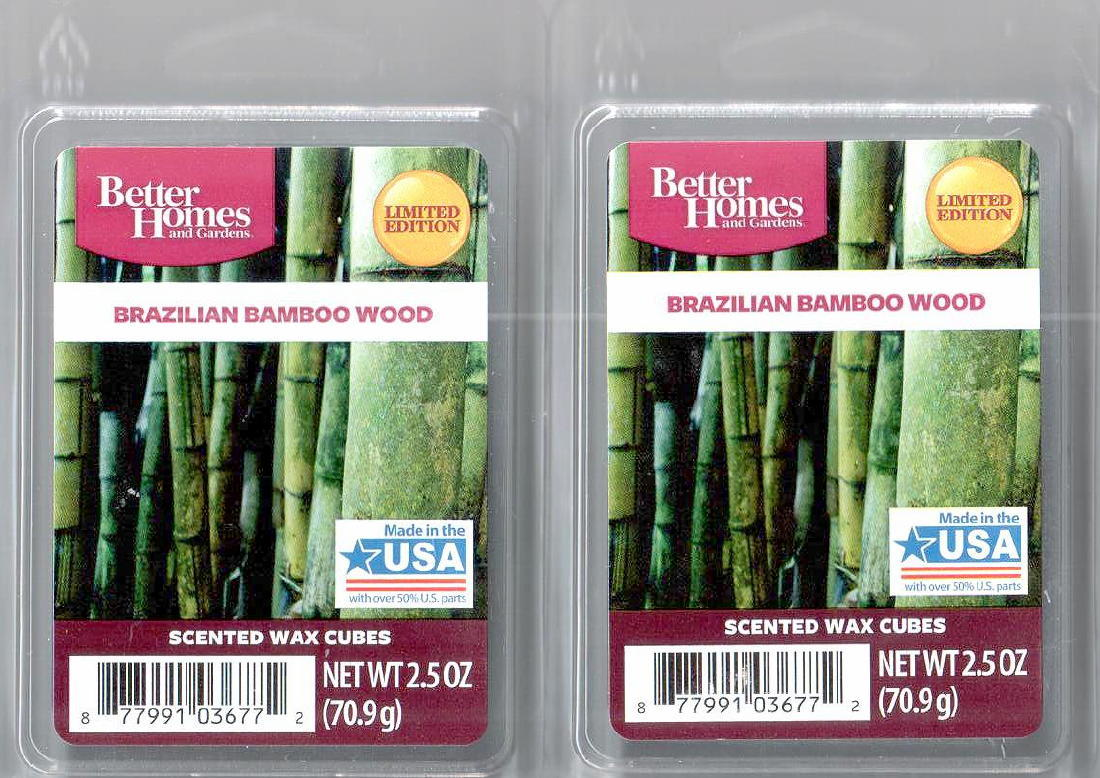 Brazilian bamboo wood better homes and gardens scented wax - Better homes and gardens scented wax cubes ...