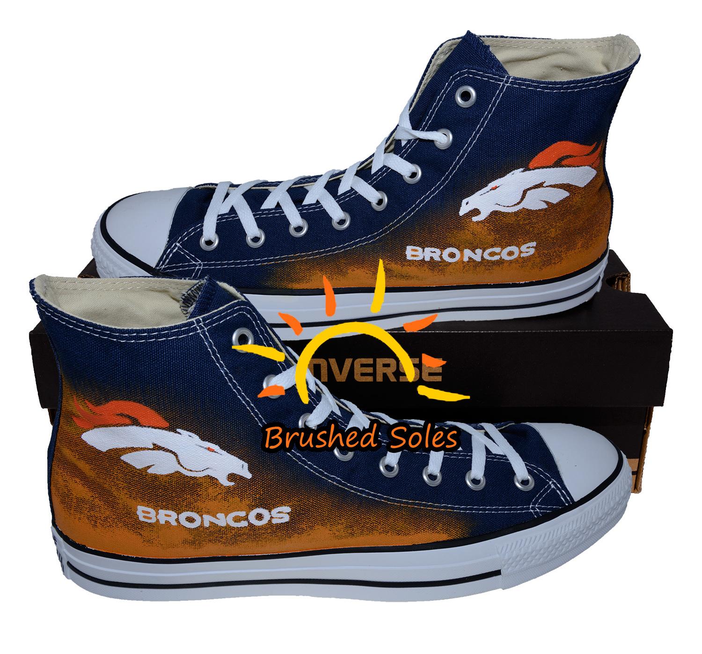 Denver Broncos Converse Shoes