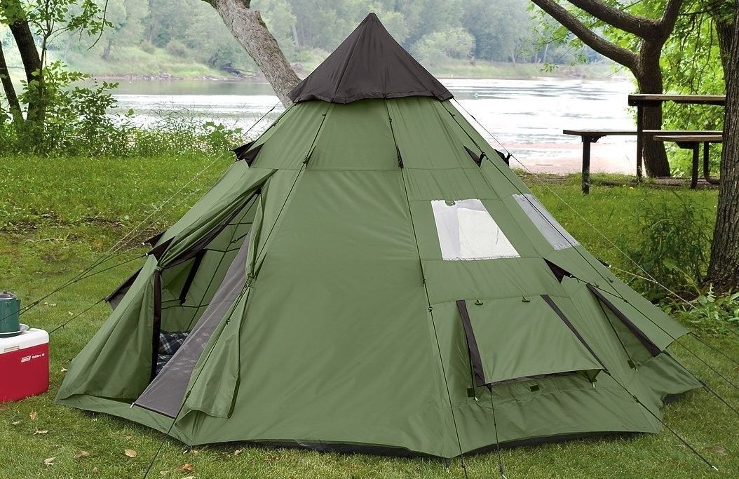 Outdoor Camping 10 X 10 Teepee Tent Tents WaterProof ...