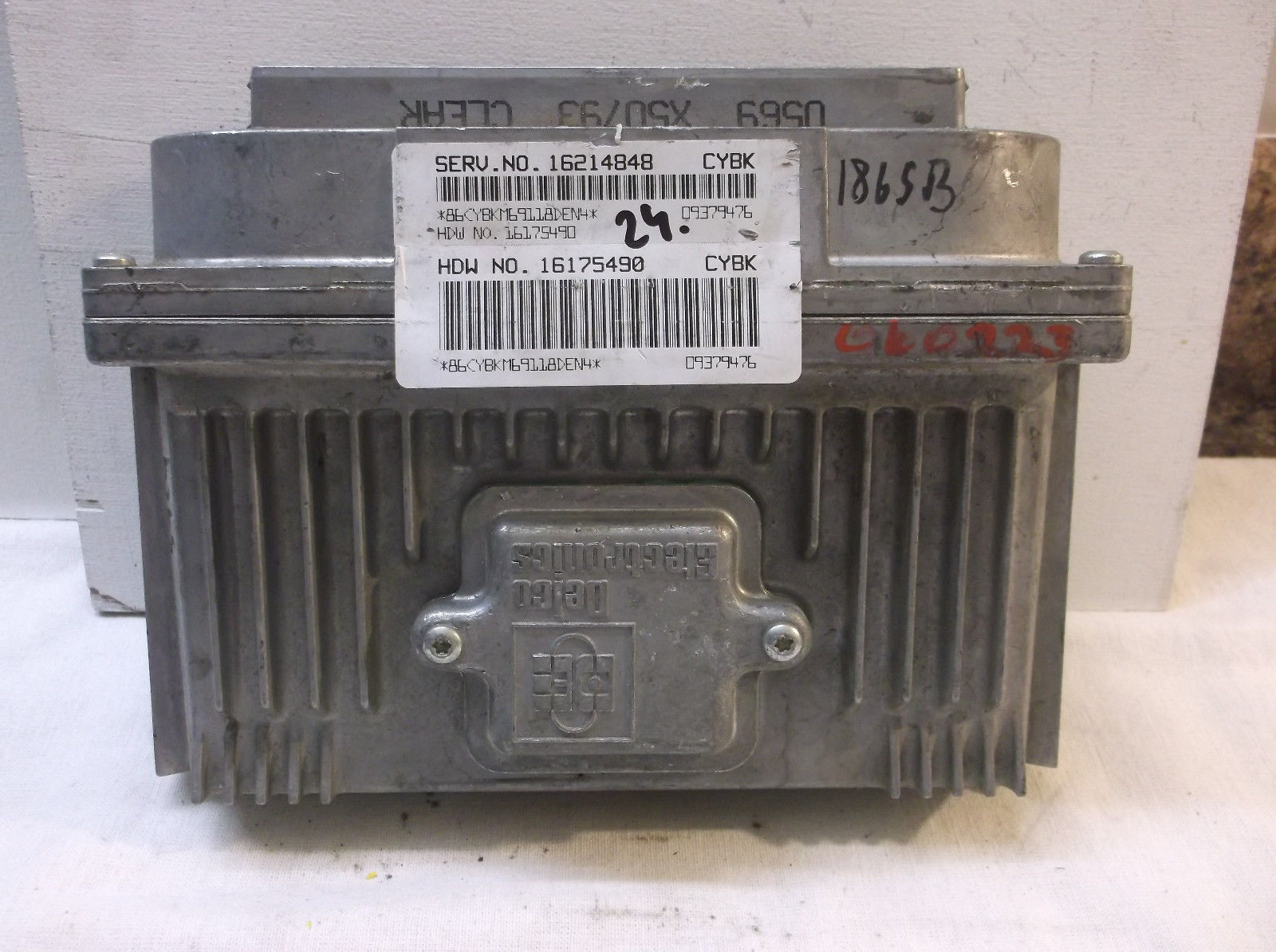 on 2000 Cadillac Deville Battery Location