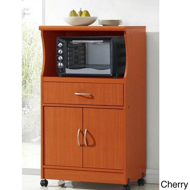 Kitchen Storage Utility Shelf Cabinet Rolling Kitchen Islands