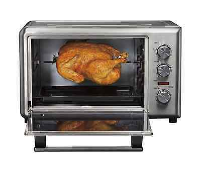 Countertop Oven Extra Large Capacity Stainless Convection Rotisserie ...