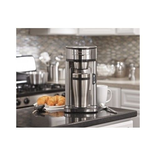 Single Serve Coffee Maker K-Cup Brewer One Holder Mug Stainless Steel Keurig Tea - Single Serve ...