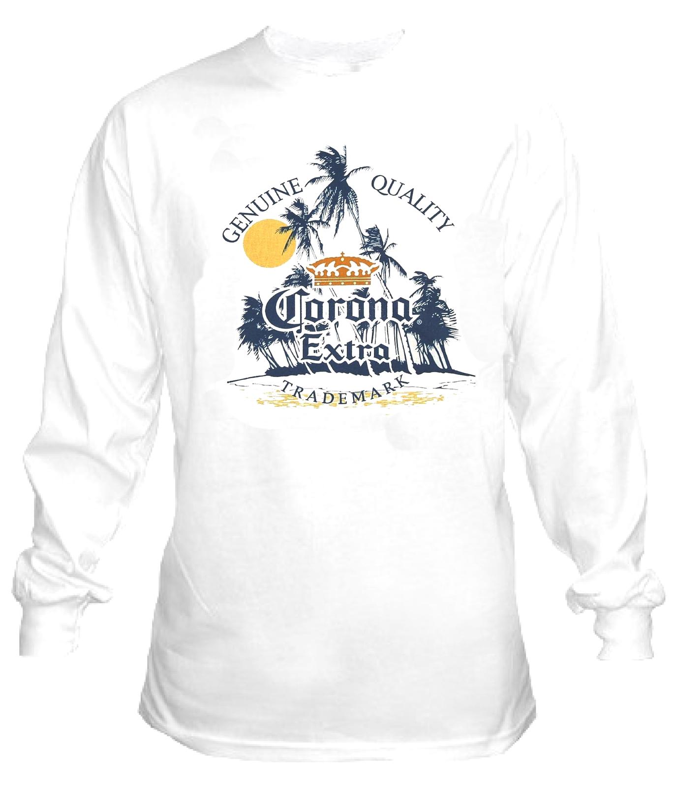 Corona Extra Long Sleeve Beer T Shirt S M L Xl 2xl 3xl 4xl