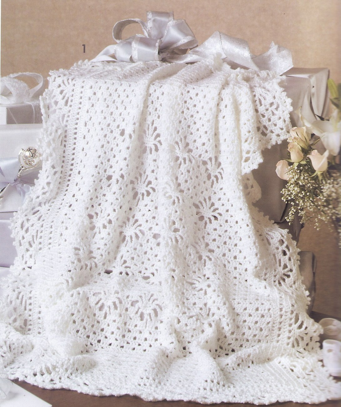 Keepsake Baby Afghans Crochet Patterns Book 7 Designs ...