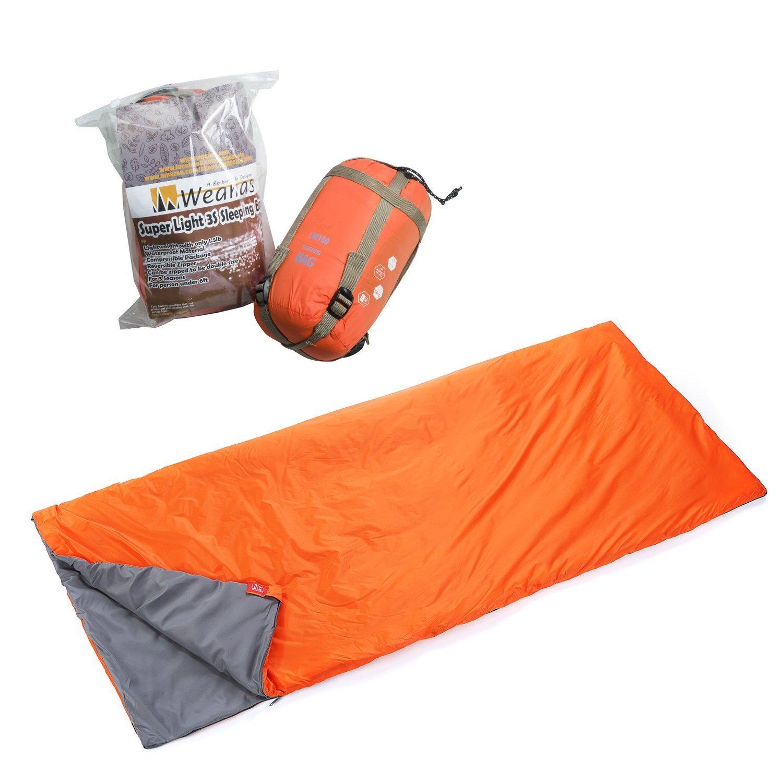 Weanas®-Orange Lightweight Outdoor Camping Envelope ...