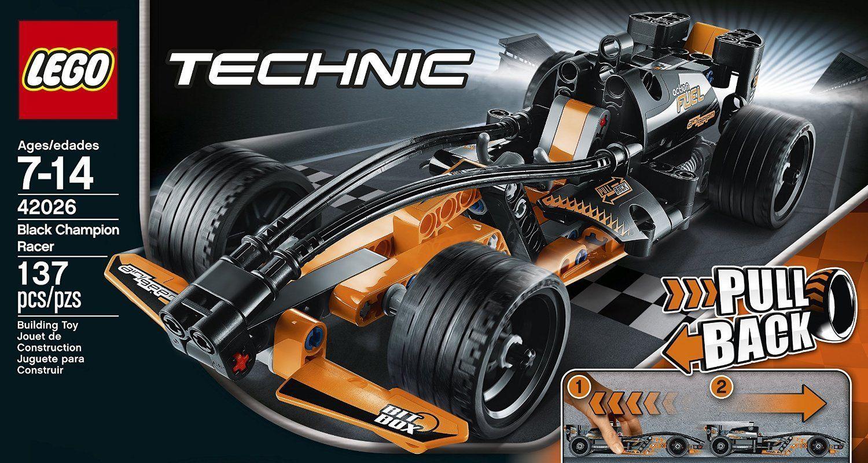 LEGO Technic 42026 Black Champion Action Racer Model Kit ...