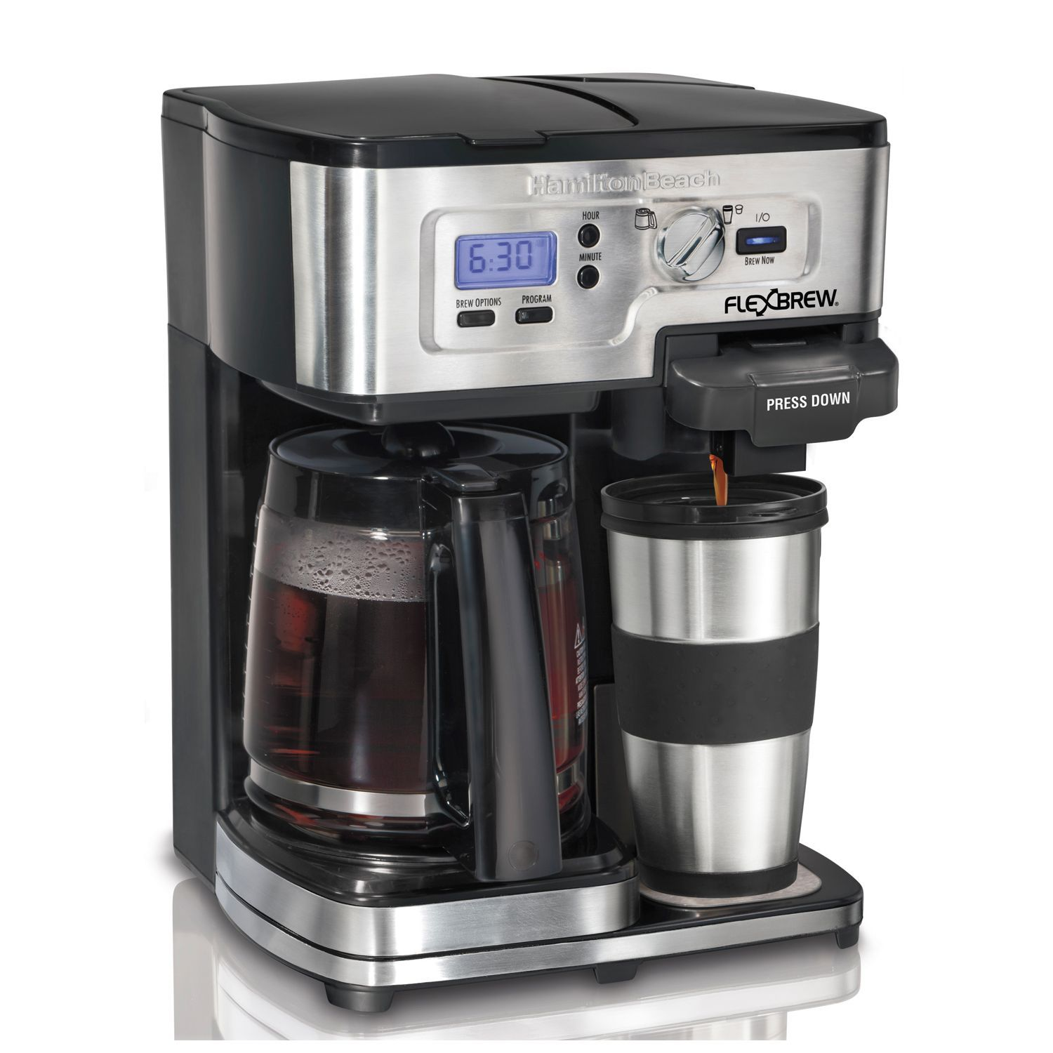 Kohl's will be offering the Hamilton Beach FlexBrew 2-Way Coffee Maker for only $ (reg. $) during the Kohl's Black Friday Sale (see page 19 of the ad). You save 27% off the retail price during this sale. Plus, this item ships free. Grab this deal at .